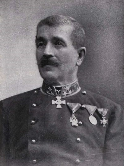 Károly Szelestey - major general gendarme 1847-1912