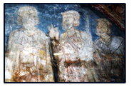 Jáki Nagy Márton and his relatives fresco